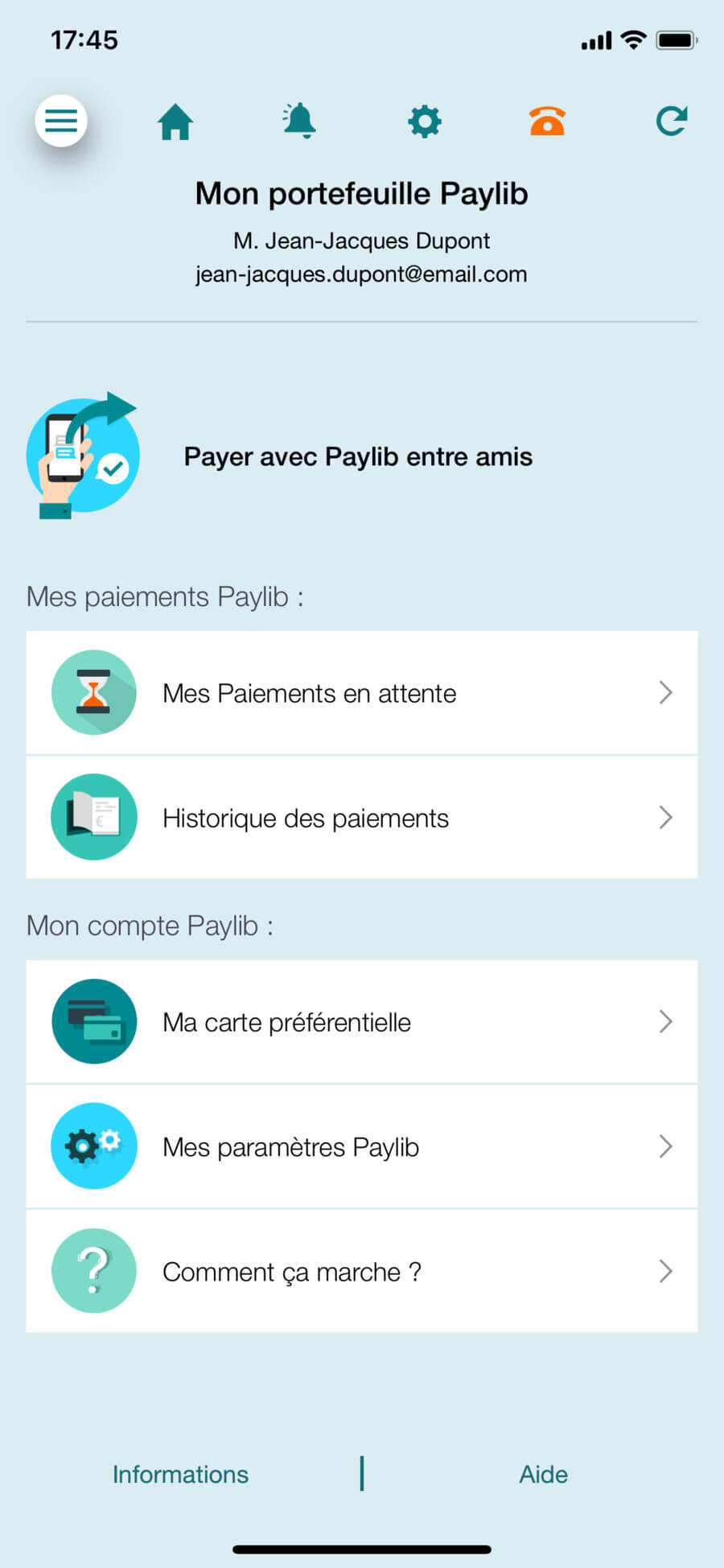 Paylib, le paiement mobile sans contact sur l'application Ma Carte