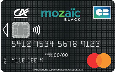 Carte Mozaïc APY BANK